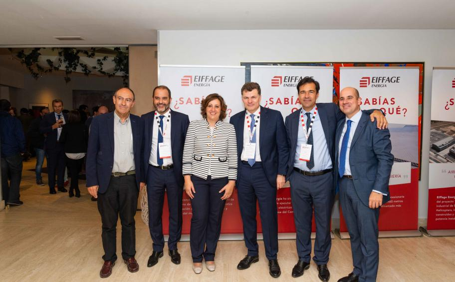 Eiffage Energía inaugurates a new head office in Albacete (Spain) to celebrate its 15th birthday