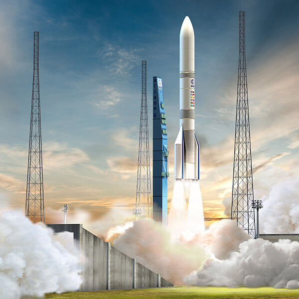 Ariane 6 launch complex
